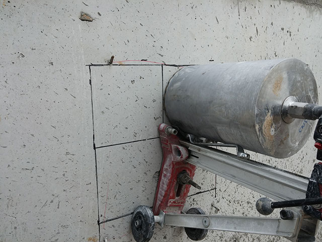 Beton Delme Resimleri, Karot Nasıl Alınır - Fotoğraf Galerisi-1